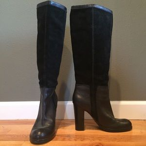 Black Boots. Size 7 1/2